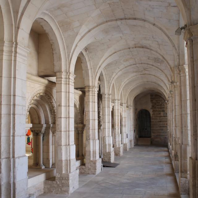 Douves Abbaye Saint- Germain Auxerre