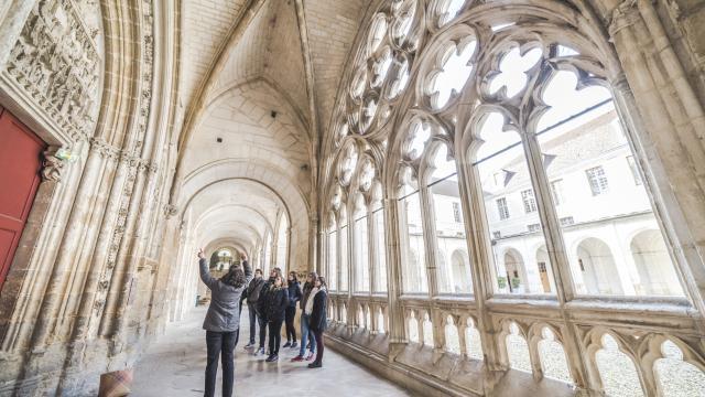 Visite guidée site monastique Abbaye St.Germain
