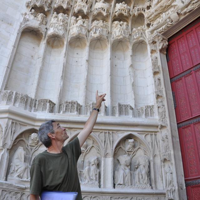 Facade Cathédrale Josette Laliaux