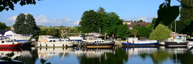 Quais péniches Auxerre